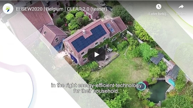 Project uit België maakt hernieuwbare energie voor huishoudens populair