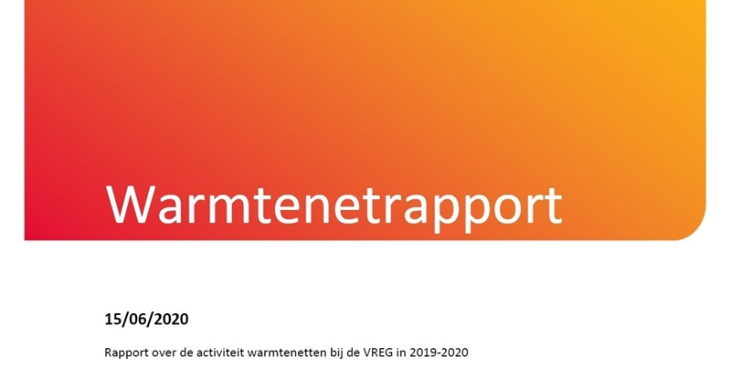 VREG publiceert eerste Warmtenetrapport