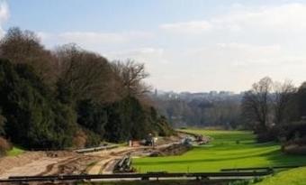 Een blik op de duurzame werken in het koninklijk domein van Laken