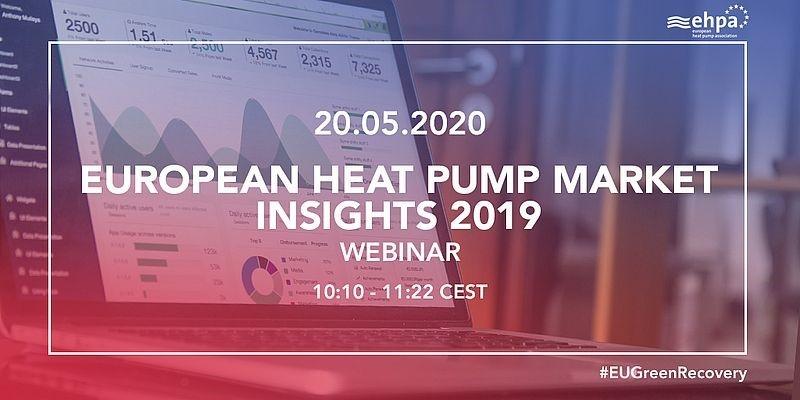 HEAT PUMP MARKET INSIGHTS 2019 webinar: presentaties nu beschikbaar