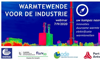 Gratis webinar 'Warmtewende voor de industrie'