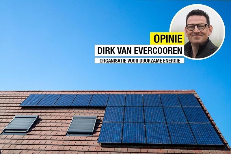 """OPINIE: Hoe moet het nu verder met zonnepanelen? """"Een duurzame tax shift zou helpen"""""""