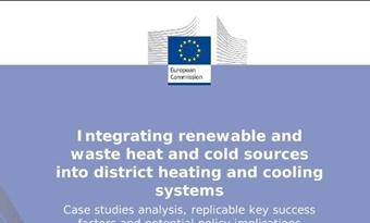 Integratie van hernieuwbare warmte- en koudebronnen en afvalwarmte in stadsverwarmings- en stadskoelingssystemen