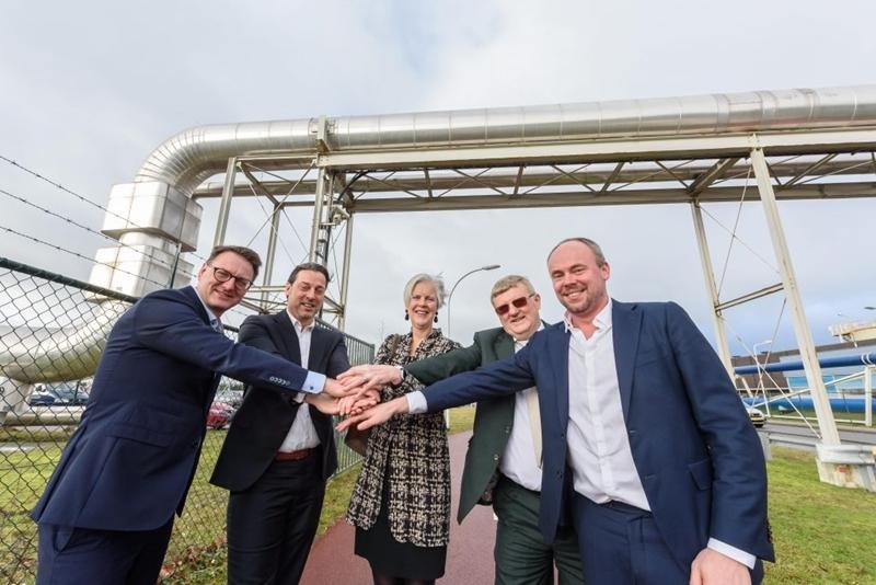 Nouryon in Nederland verduurzaamt zoutproductie dankzij groene stoom van Twence