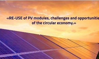 Studie hergebruik van PV-modules, uitdagingen en kansen van de circulaire economie