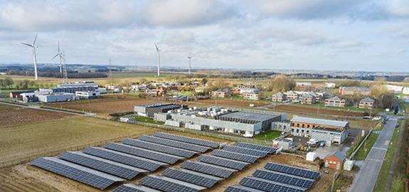 Wetenschapspark Créalys vergroent met 2.000 fotovoltaïsche panelen