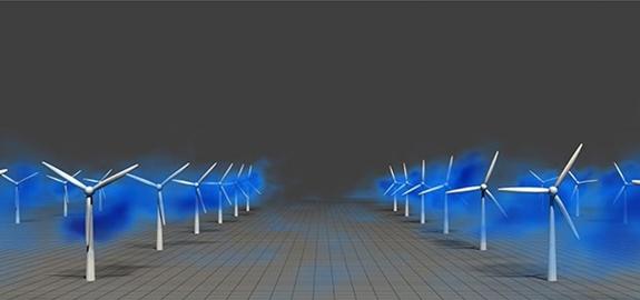 Windparken profiteren van sterke stroming in lagere atmosfeer