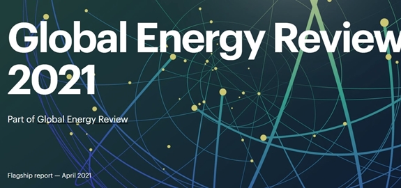 Rapport IEA: Global Energy Review 2021