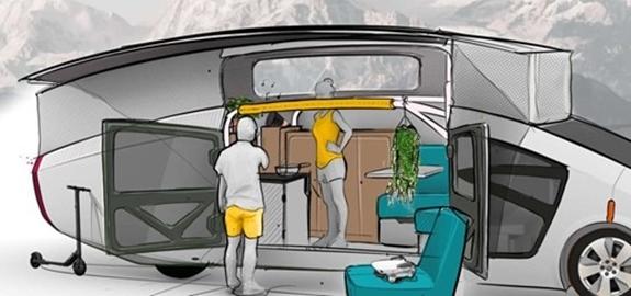 Eindhovense studenten lanceren 'camper' op zonne-energie