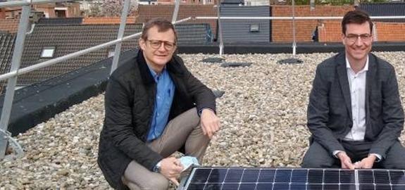 Zorgpunt Waasland plaatst zonnepanelen op acht locaties via het Vlaams Energiebedrijf (VEB)