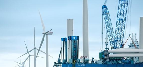 Gigantische offshore windprojecten in de Ierse zeeën