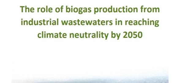 De rol van biogasproductie uit industrieel afvalwater in het bereiken van klimaatneutraliteit tegen 2050