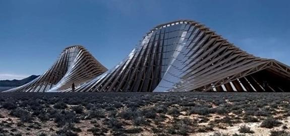 Een berg van zonnepanelen geeft esthetisch randje aan groene stroom