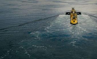 De grootste getijdenturbine ter wereld levert voor het eerst stroom aan het Britse net