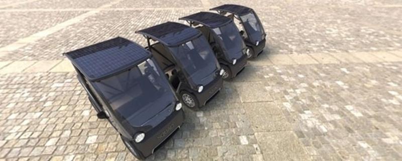 Eerste zonne-auto voor in de stad in de maak: 'het ontbrekende puzzelstukje in de mobiliteitsmix'