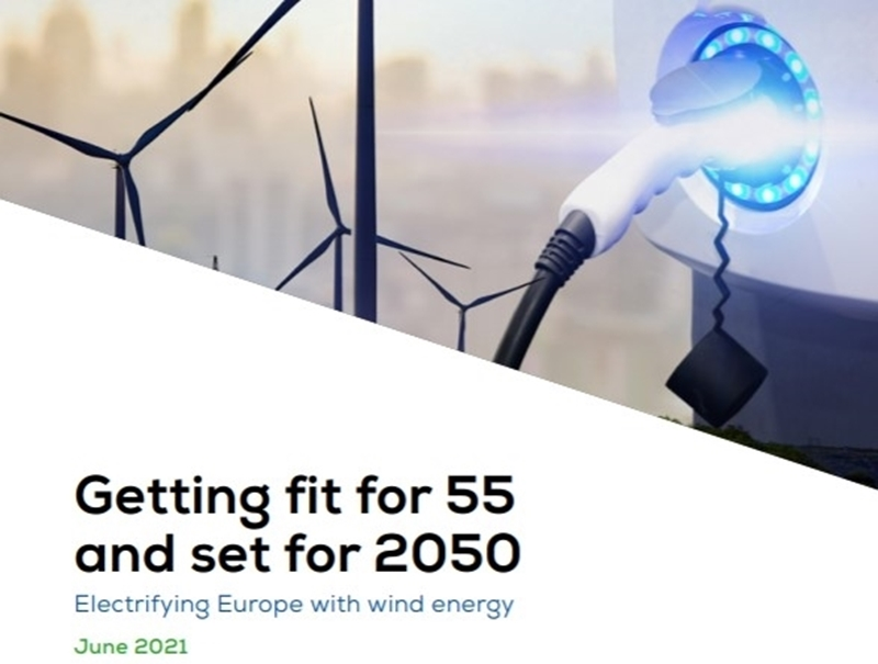 Rapport ETIPWind en WindEurope 'Getting fit for 55 and set for 2050'