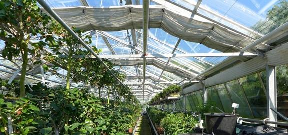 PV-aangedreven geothermisch warmtepompsysteem voor serres