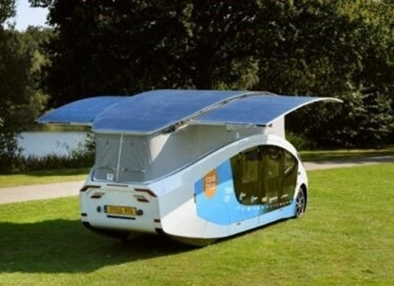 Een camper met zonnepanelen kan zonder laadpaal naar Spanje rijden