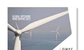 Global Offshore Wind Report 2021 voorspelt 235 GW aan geïnstalleerd vermogen in het volgende decennium